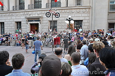 Ottawa Busker Festival Editorial Photography