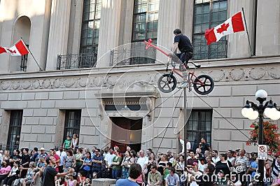 Ottawa Busker Festival Editorial Photo
