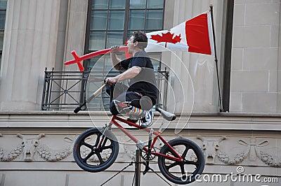 Ottawa Busker Festival Editorial Image