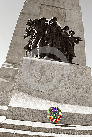 Ottawa Remembrance Day Editorial Photography