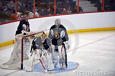 Ottawa Senators open training camp after NHL Lockout Editorial Stock Photo
