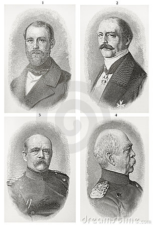 Otto Von Bismarck Editorial Stock Photo