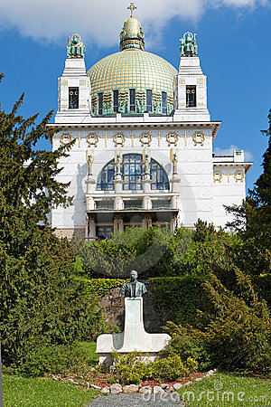 Free Otto Wagner Church Vienna Royalty Free Stock Images - 19388969