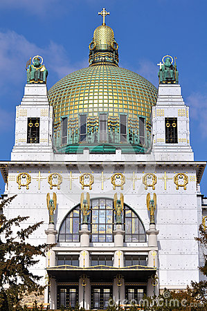 Free Otto Wagner Church, Vienna Royalty Free Stock Images - 29632699