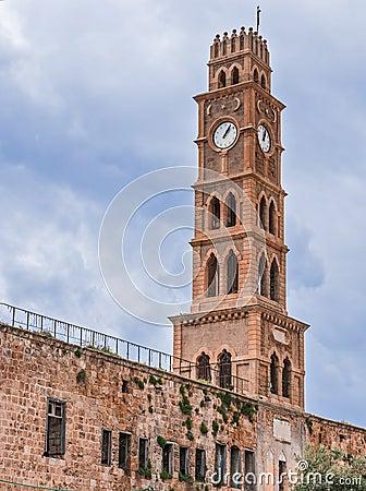 Ottoman landmark building - Han El-Umdan