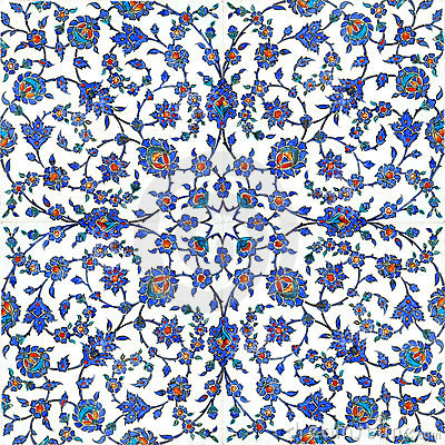 Free Ottoman Tiles Royalty Free Stock Images - 4016319
