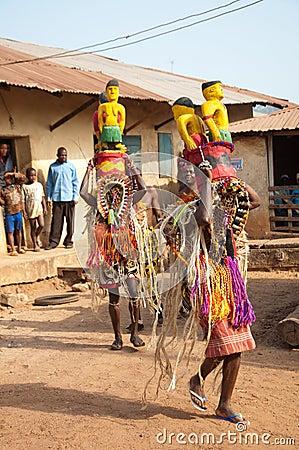 Age Grades festival in Nigeria Editorial Image