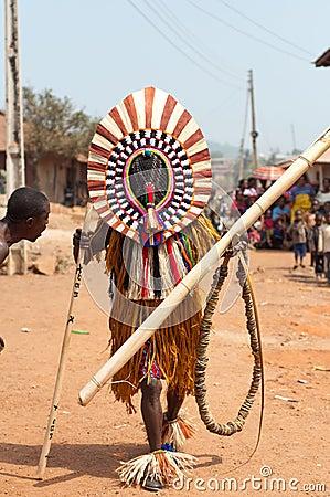 Masquerade in Nigeria  Editorial Image