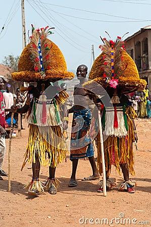 Age Grades festival in Nigeria Editorial Photo