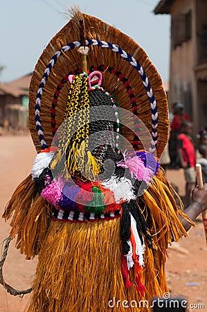 Masquerade in Nigeria  Editorial Photography
