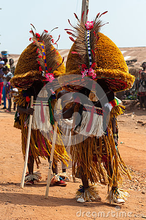 Age Grades festival in Nigeria Editorial Stock Photo
