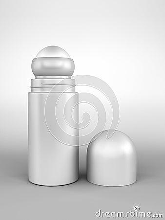 Otwarta dezodorant rolka