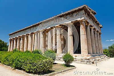 Oud Agora in Athene