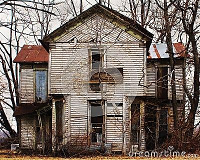 Oud verlaten huis royalty vrije stock foto 39 s afbeelding 22331138 - Lay outs oud huis ...