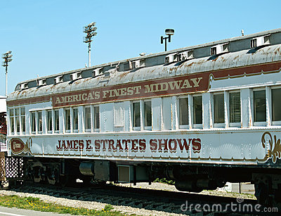Oude Carnaval trein Redactionele Foto