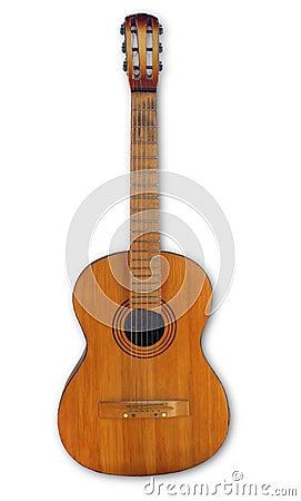 Oude gitaar