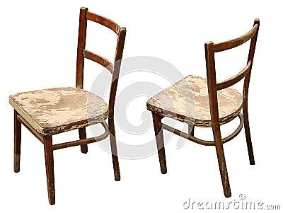 Oude houten stoel stock fotografie afbeelding 15798862 - Houten plastic stoel ...