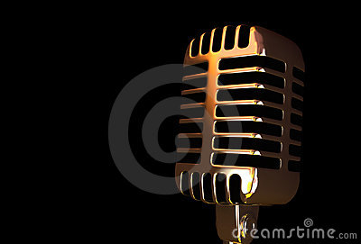 Oude Microfoon