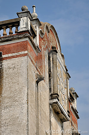 Oude militaire watchtower in Zuidelijk China