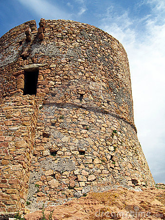Oude toren - Corsica