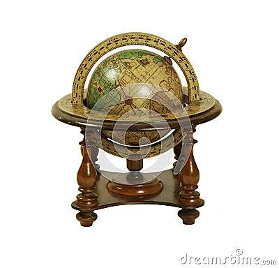 Oude wereldbol royalty vrije stock foto 39 s afbeelding 6552338 - Huis lamp wereld nachtkastje ...
