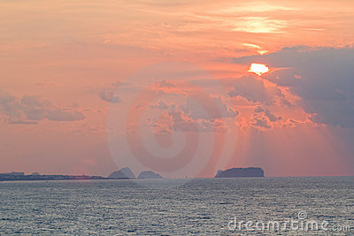 öjeju solnedgång