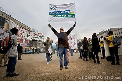 Our Climate Our Future Editorial Photo