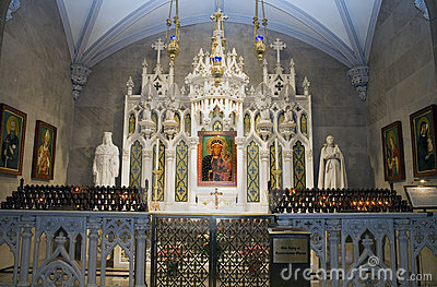 Our Lady of Czestochowa Shrine Editorial Photography