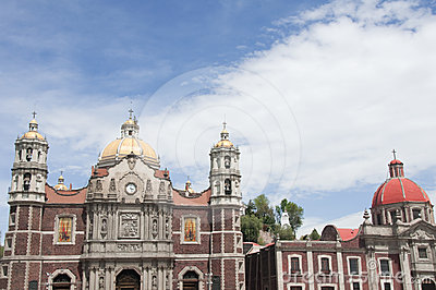 Our Lady of Guadalupe sanctuary in Mexico city