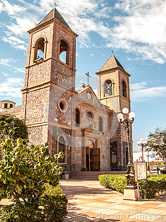 Free Our Lady Of La Paz Cathedral Stock Photo - 27360000