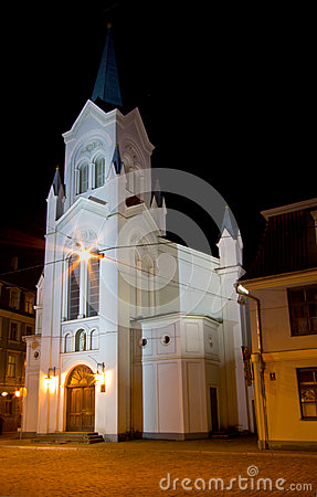 Our Lady Of Sorrows Church In Riga Royalty Free Stock Photo - Image: 24926275