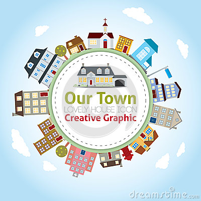 Free Our Town Stock Image - 31299671