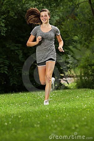 Out for a jog