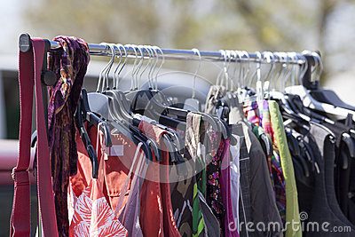 Out of season clothes on sale