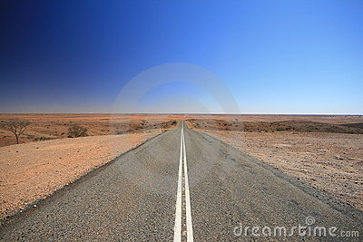 Open Outback Australia Road
