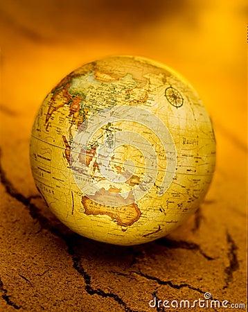 Outback Australia World Globe