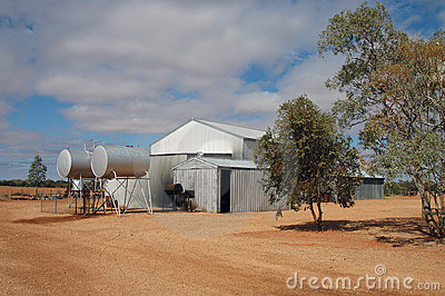 Outback Cattle Station Stock Photos Image 178543