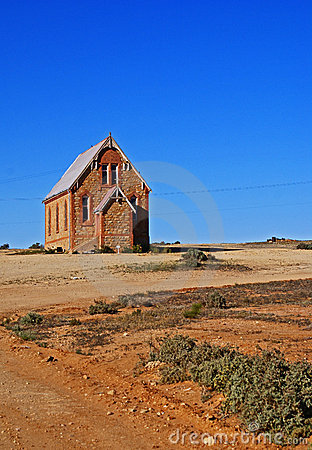 Outback Church Royalty Free Stock Image - Image: 20180346