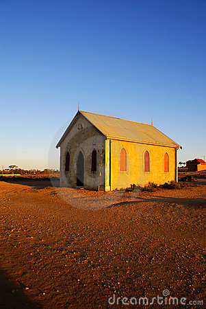 Outback Church in Silverton