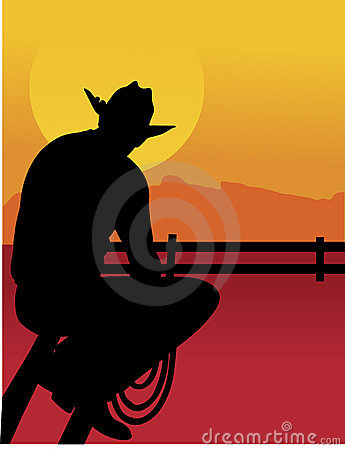 Free Outback Cowboy Stock Photos - 4106293