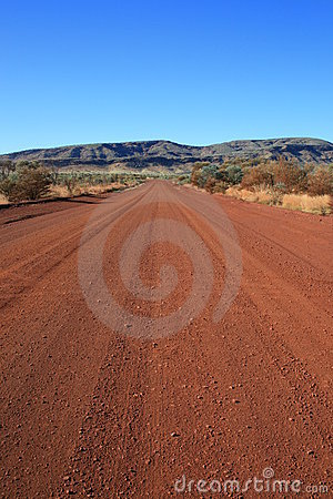 Outback Dirt Road