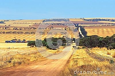 Outback landscape, Australia