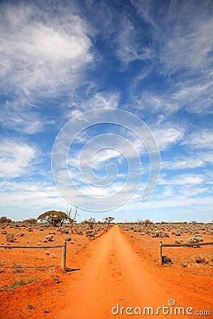 Free Outback Road Australia Royalty Free Stock Image - 7701166