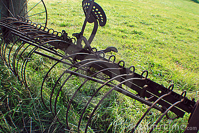 Outdated farm equipment