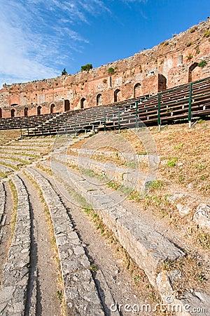 Outdoor antique amphitheatre