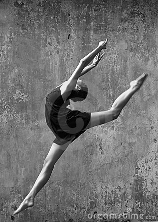 Outdoor ballet dancer