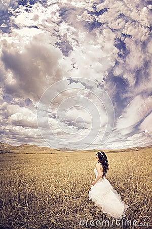 Outdoor Bride