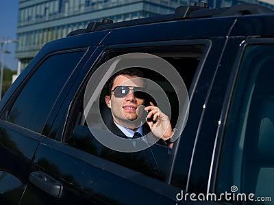 Outdoor Businessman