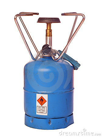Outdoor butane burner