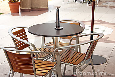 Outdoor Furniture on Home   Stock Photography  Outdoor Cafe Furniture